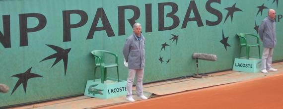 Arbitrage à Roland Garros