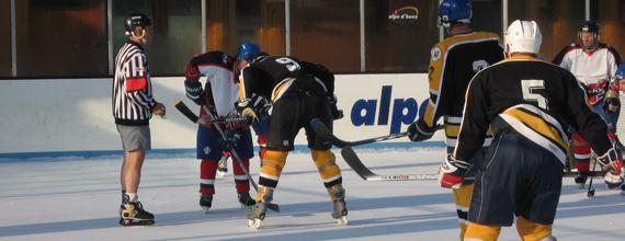 Arbitrage de hockey sur glace